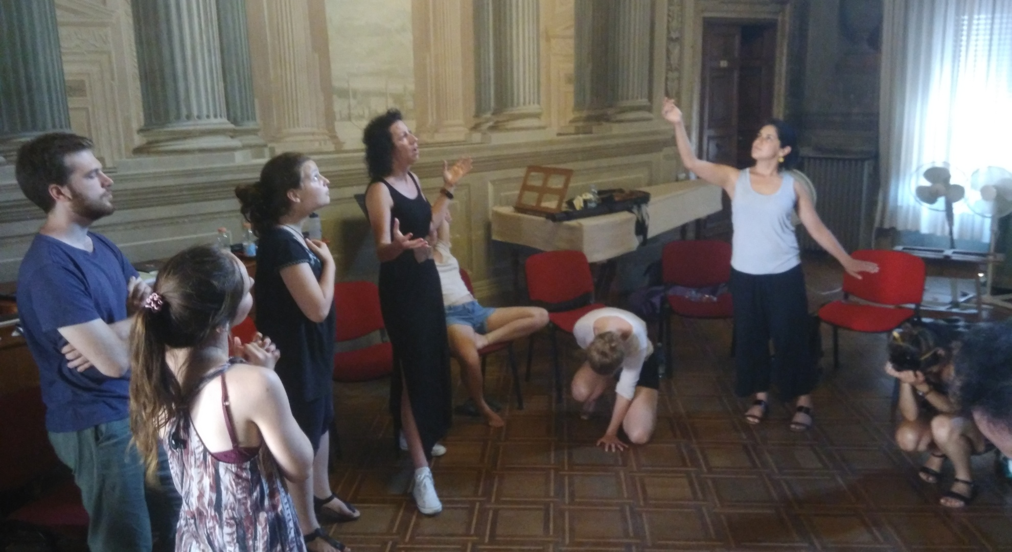 Course of Rhetoric and Gesture with Francesca Gualandri