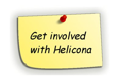 Get involved with Helicona